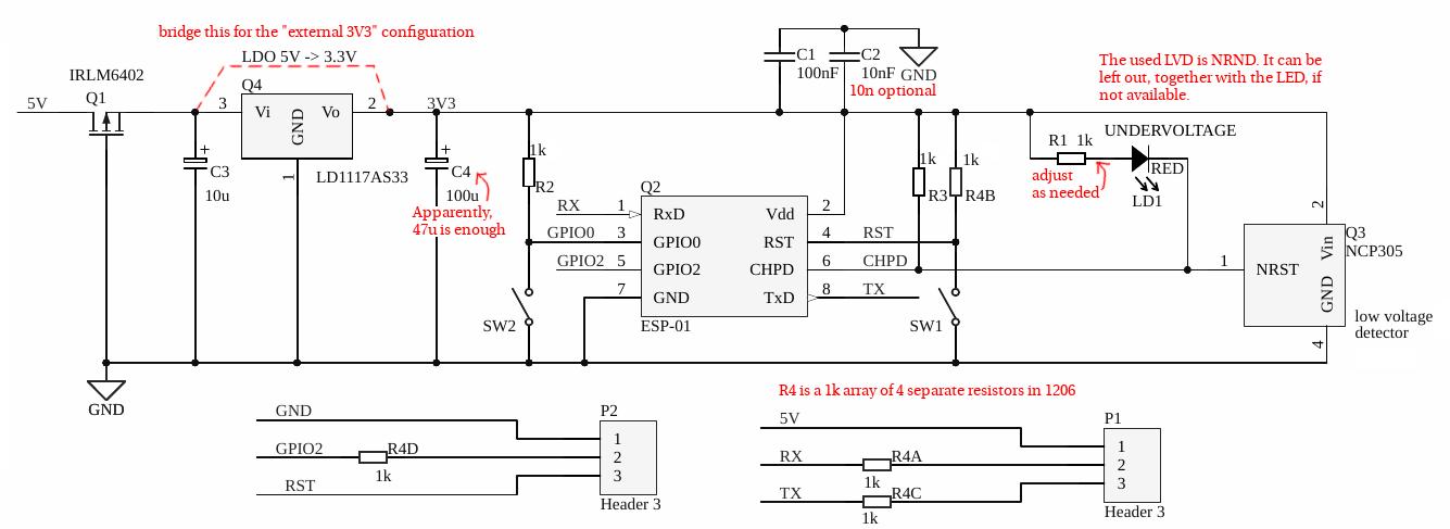 Esp8266 Schematic